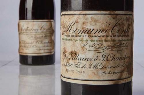 #9. Romanee Conti 1945 Expensive Wine