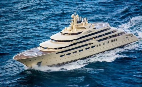 #14. Dilbar Expensive Yacht