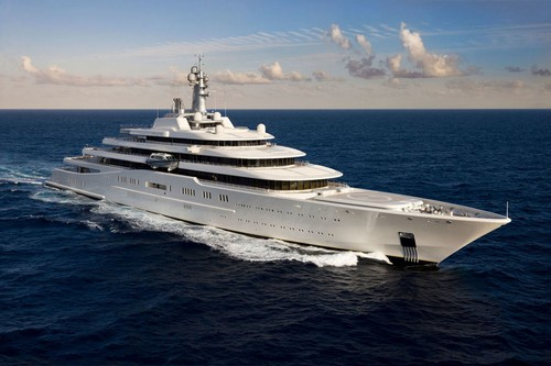 #2. Eclipse Expensive Yacht most expensive superyacht