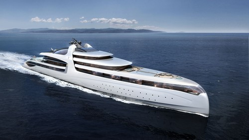 #4. Admiral X Force 145 Expensive Yacht most expensive superyacht