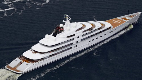 #6. Azzam Expensive Yacht