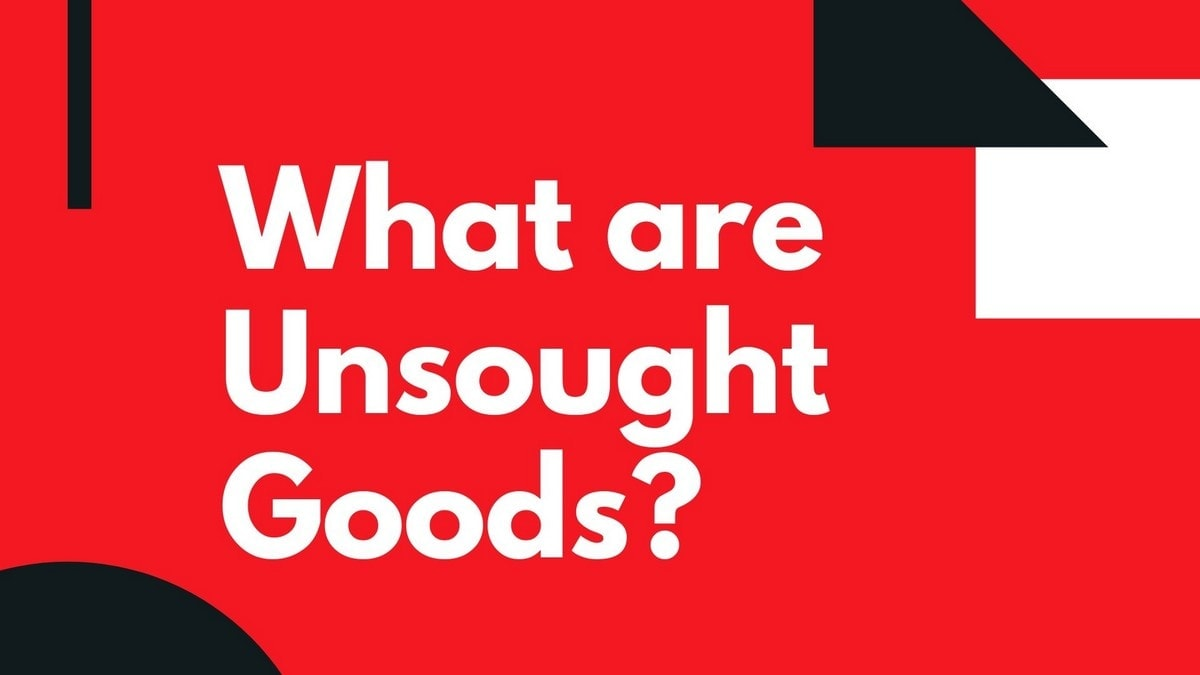 What are Unsought