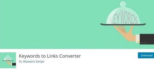Keywords to Links Converte