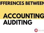 differences between accounting Versus auditing