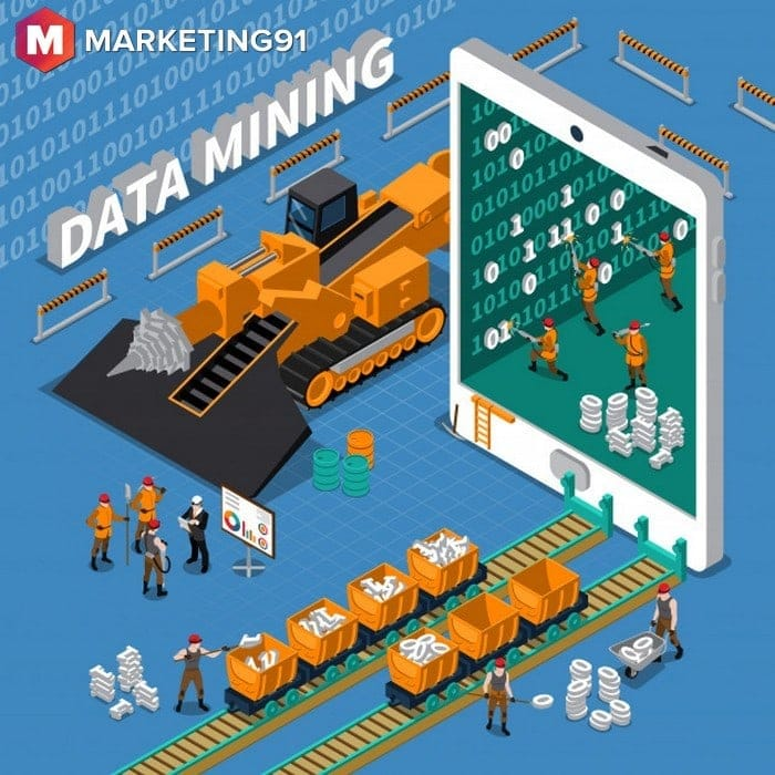 six phases in the life cycle of data mining - 1