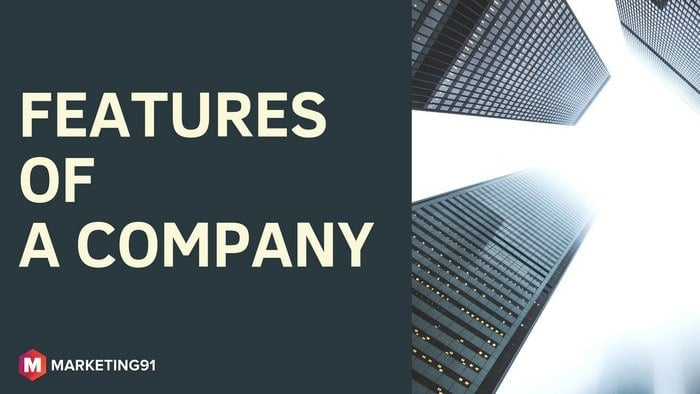16 Important Features of a Company