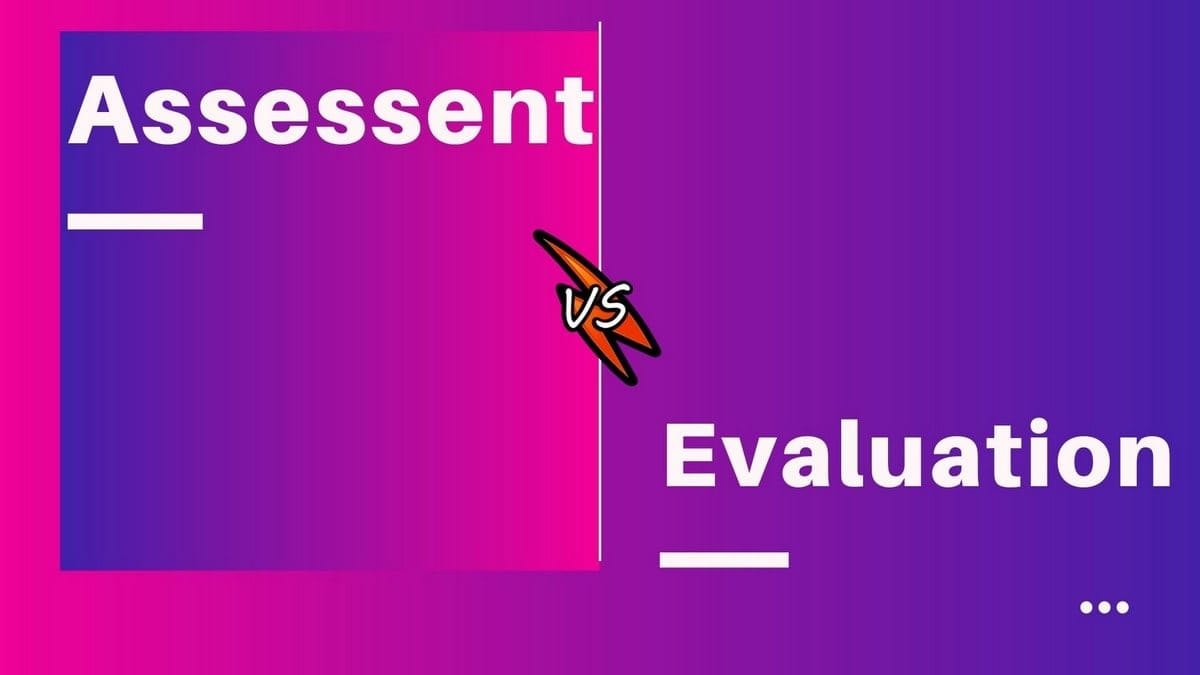 10 Key Differences Between Assessment And Evaluation In spite of important differences between these terms, they are often used interchangeably by teachers. 10 key differences between assessment