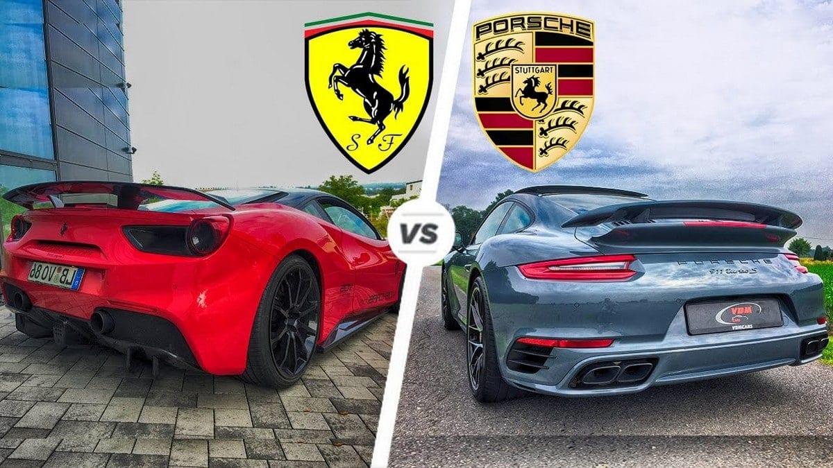 16 Key Differences Between Ferrari And Porsche Marketing91