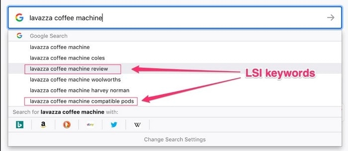 How to Find LSI keywords