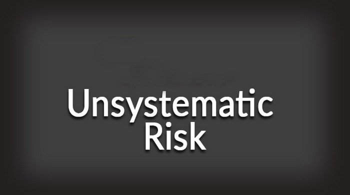 What is unsystemic risk