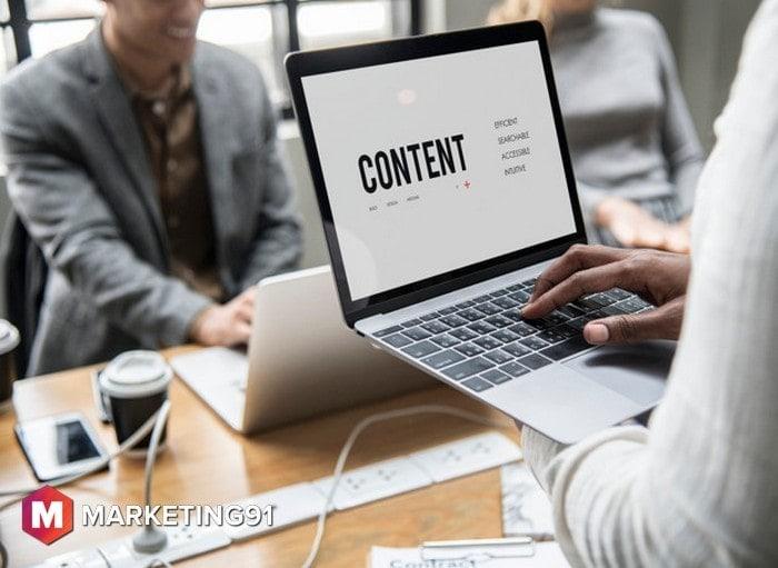 Write relevant content