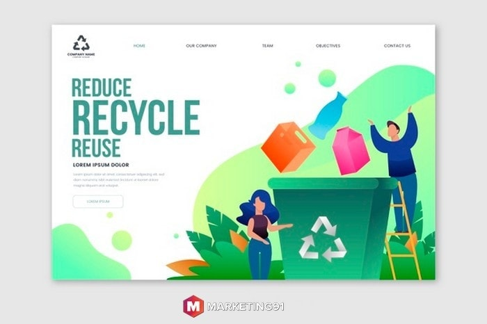#3 Recycling Content