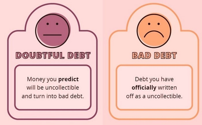Bad Debt versus Doubtful Debt