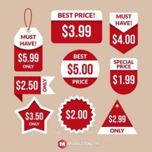 Multiple unit pricing