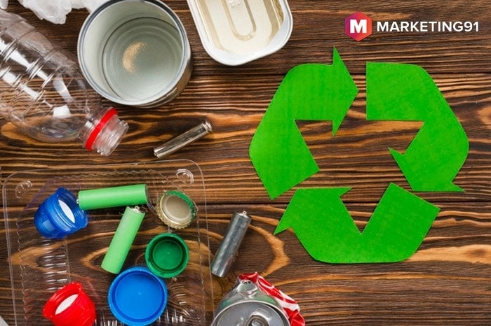 What are the three R's of waste management