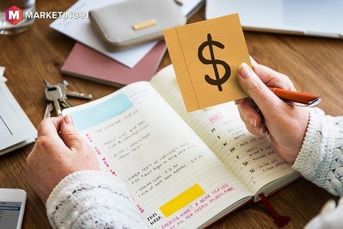 cash book or memo book