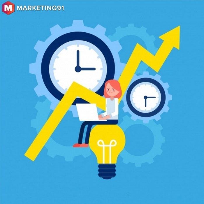 #3 Management improves efficiency