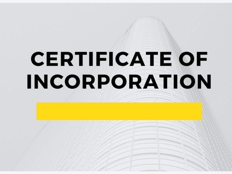 Certificate of Incorporation - Copy