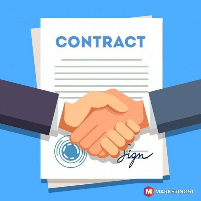 Elements of the bilateral contract