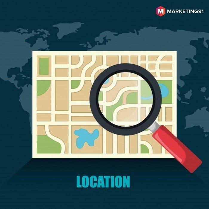 Geographic departmentalization