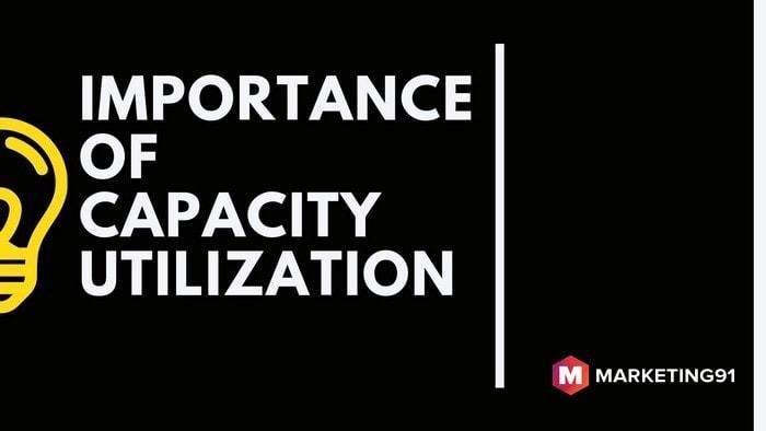 Importance of capacity utilization - 1