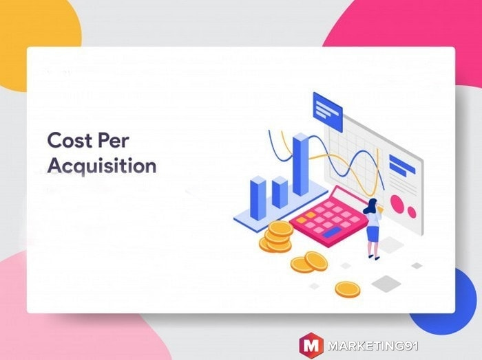 The formula of acquisition cost