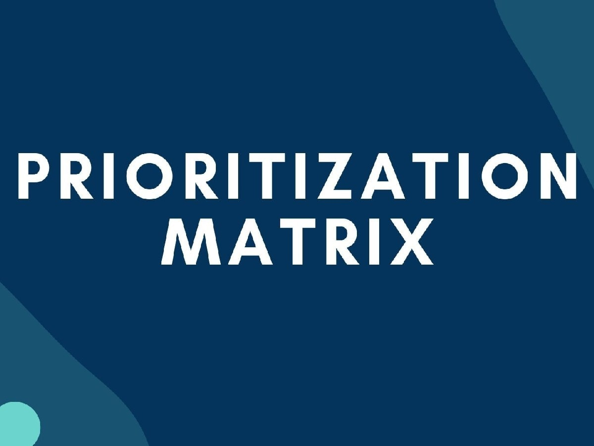 What is Prioritization Matrix