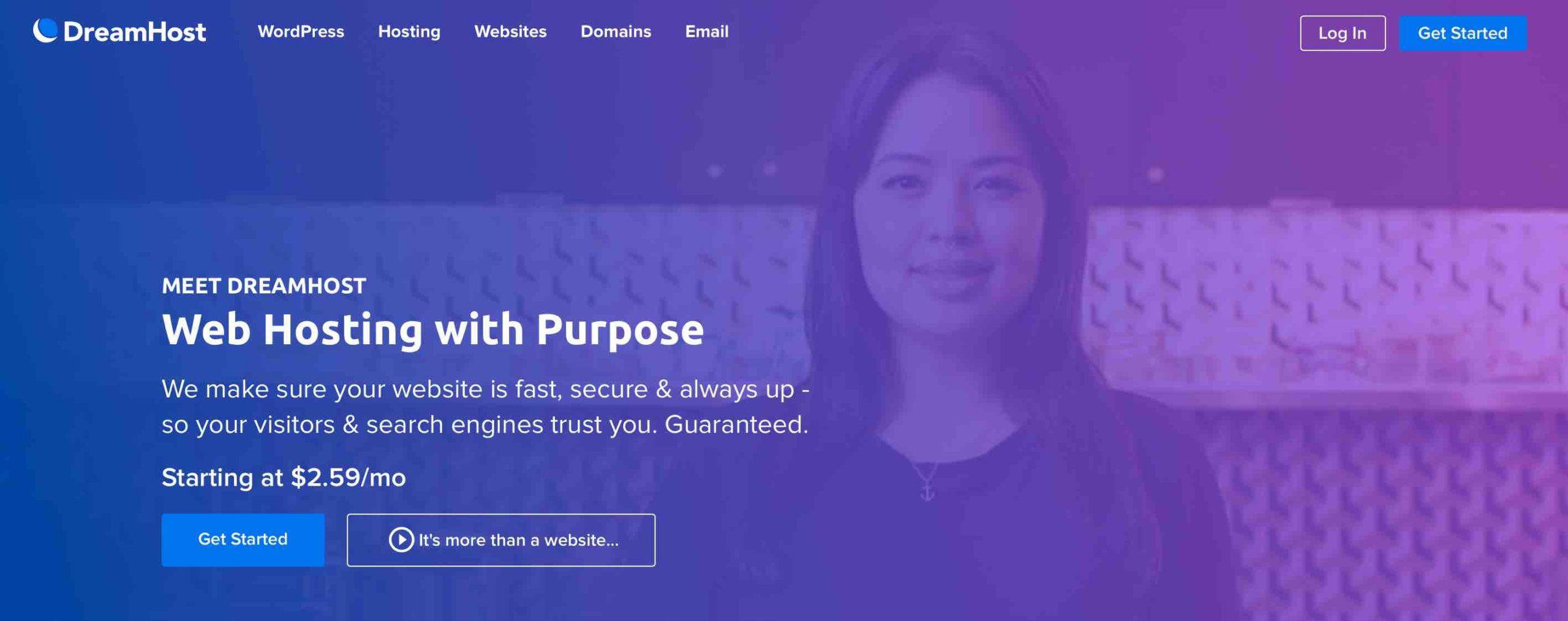 Web Hosting with Purpose