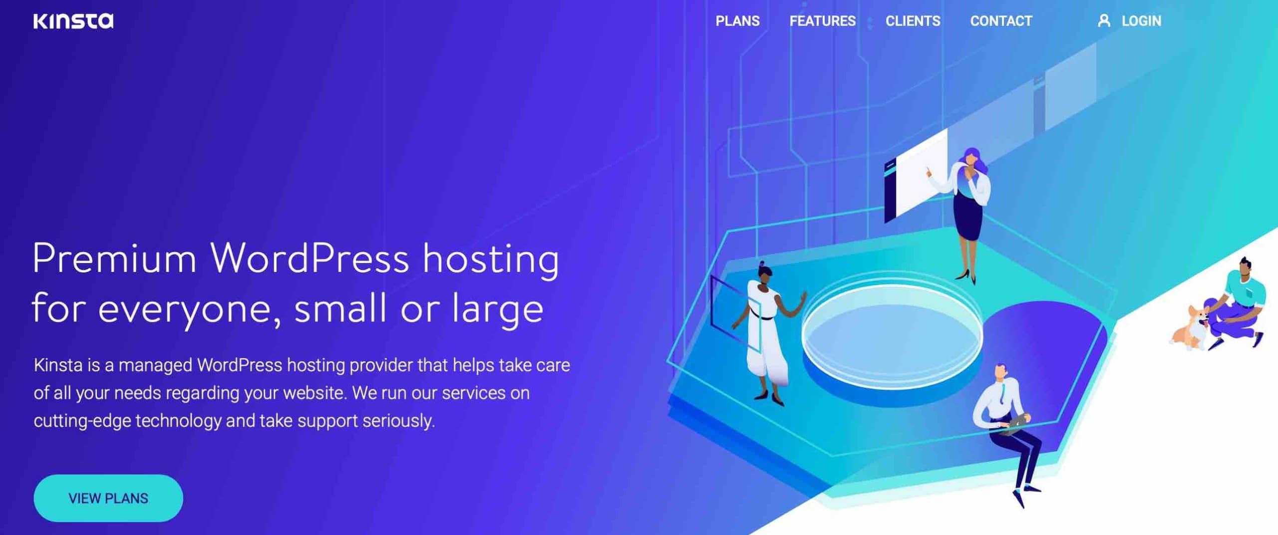 Kinsta is a Premium WordPress hosting for everyone