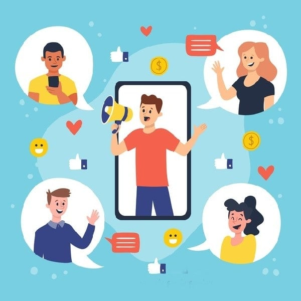 Social sharing is caring and earning