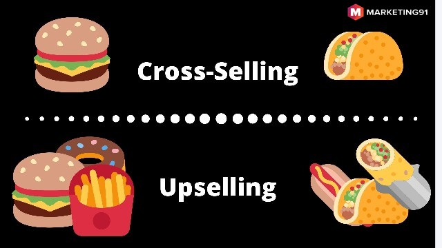 Difference between Cross-Selling and Upselling