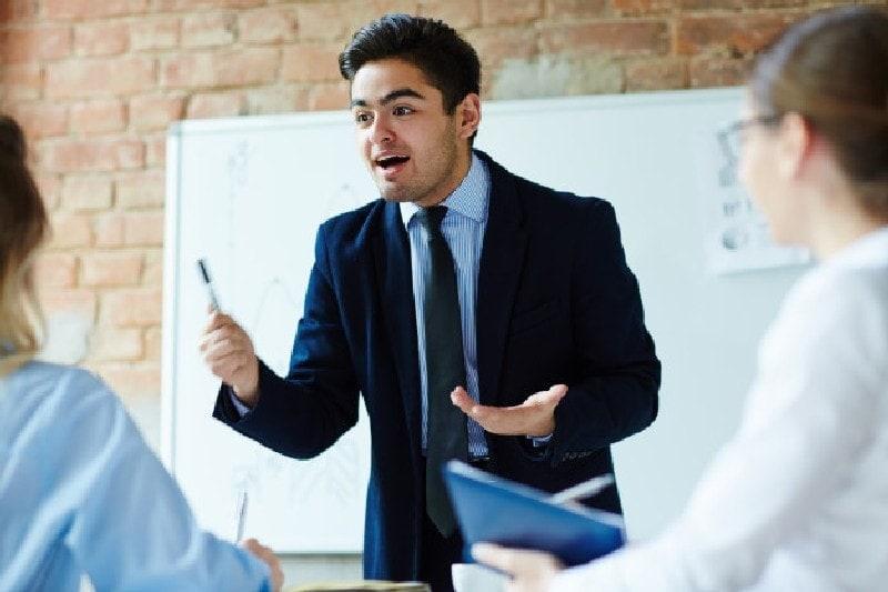 Listening develops communicating skills