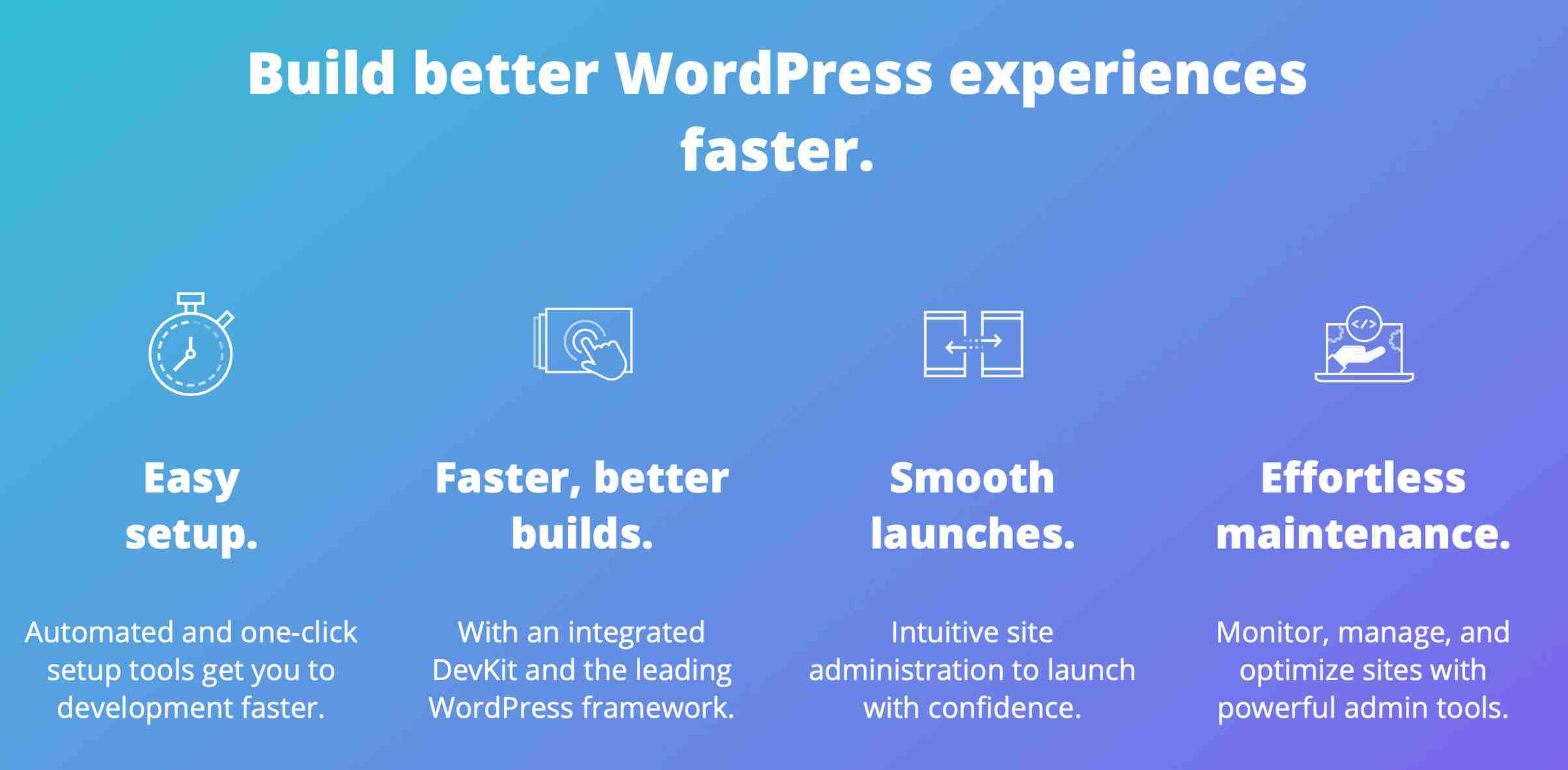 Build better WordPress experiences faster with WP Engine