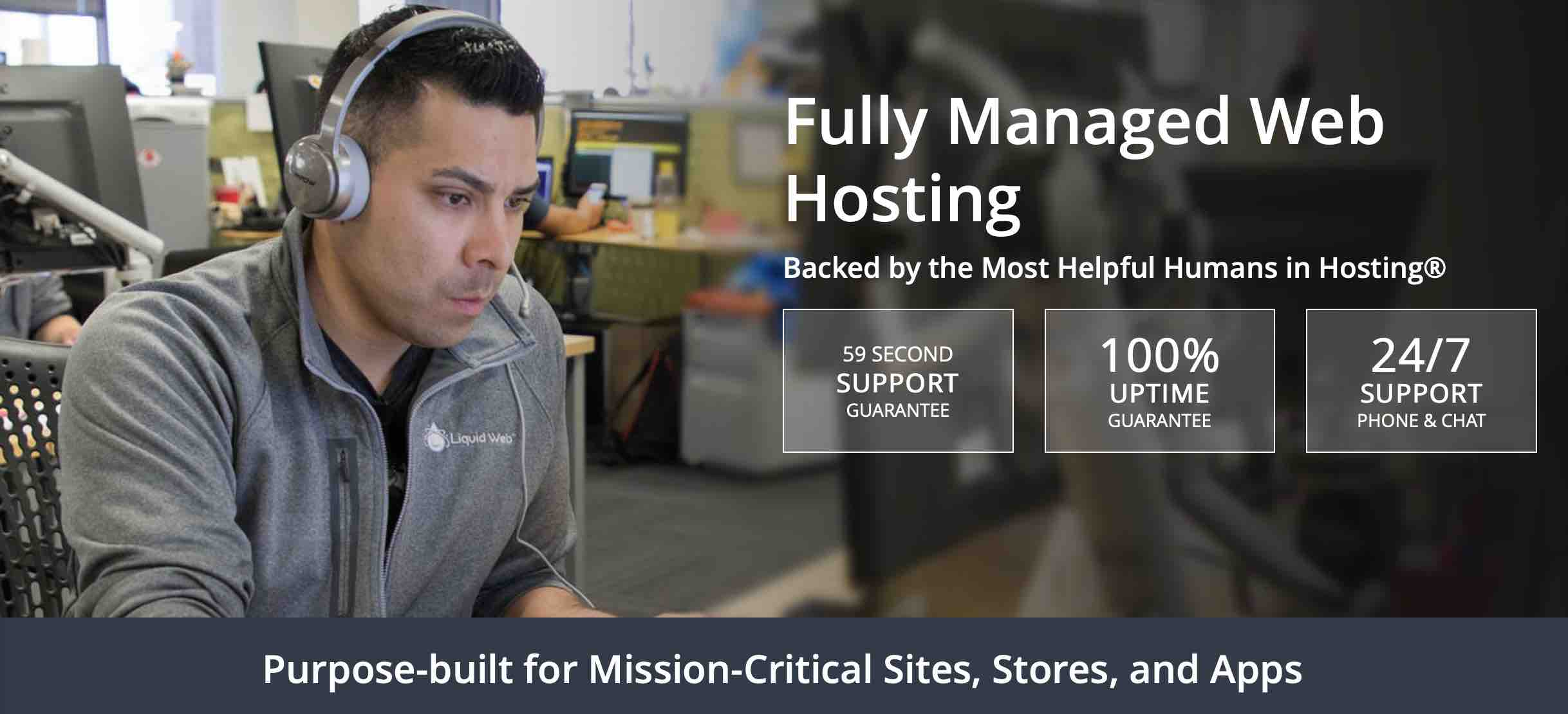 Fully Managed Web Hosting