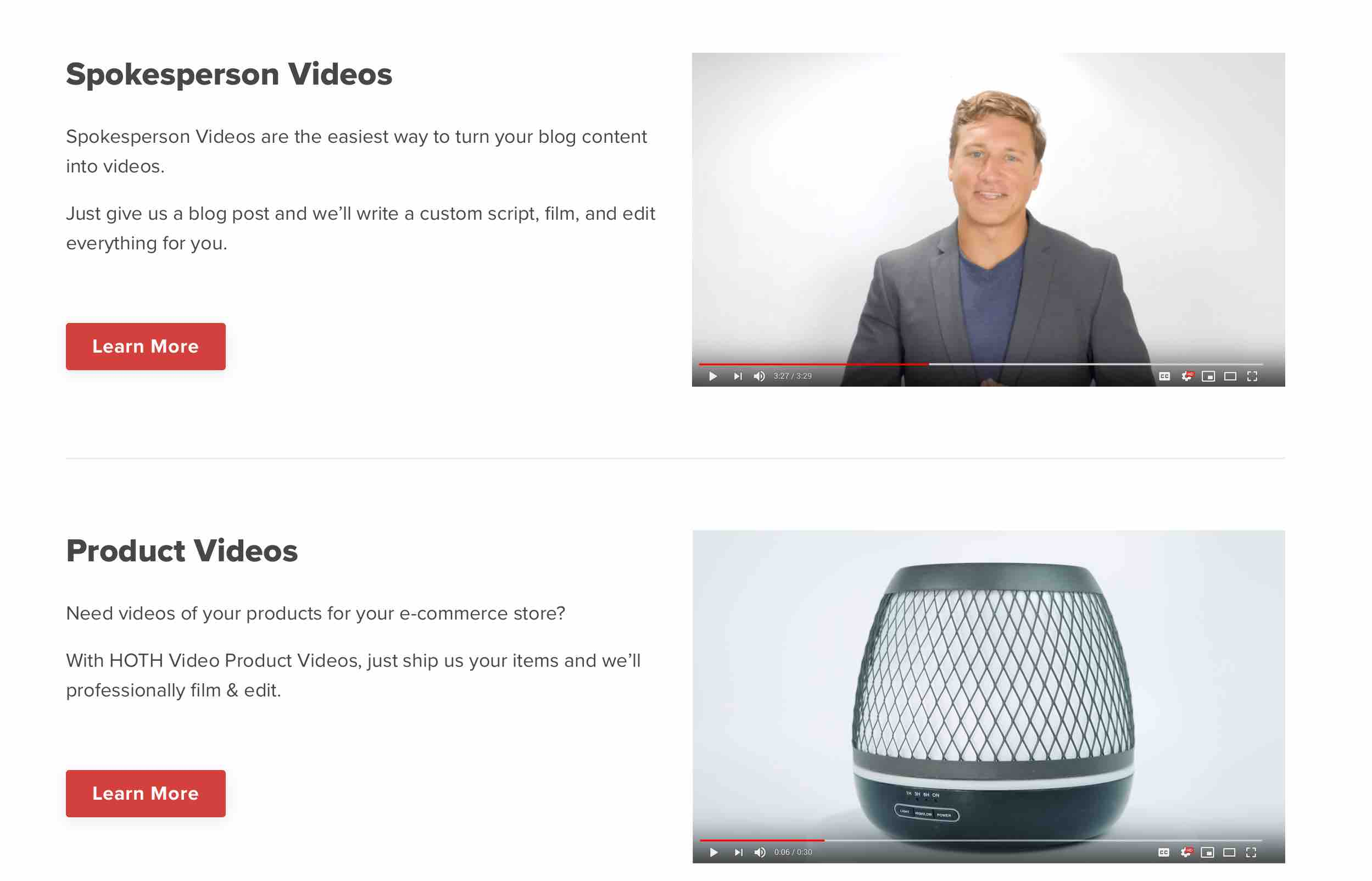 turn your blog content into videos