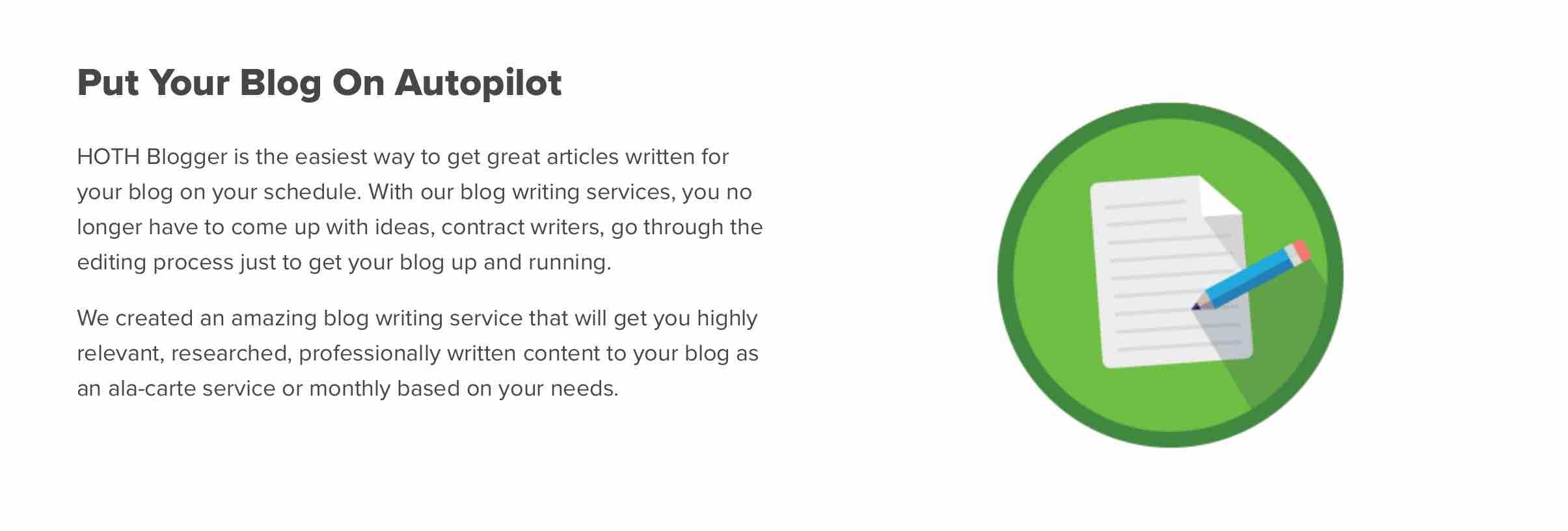 Put Your Blog On Autopilot