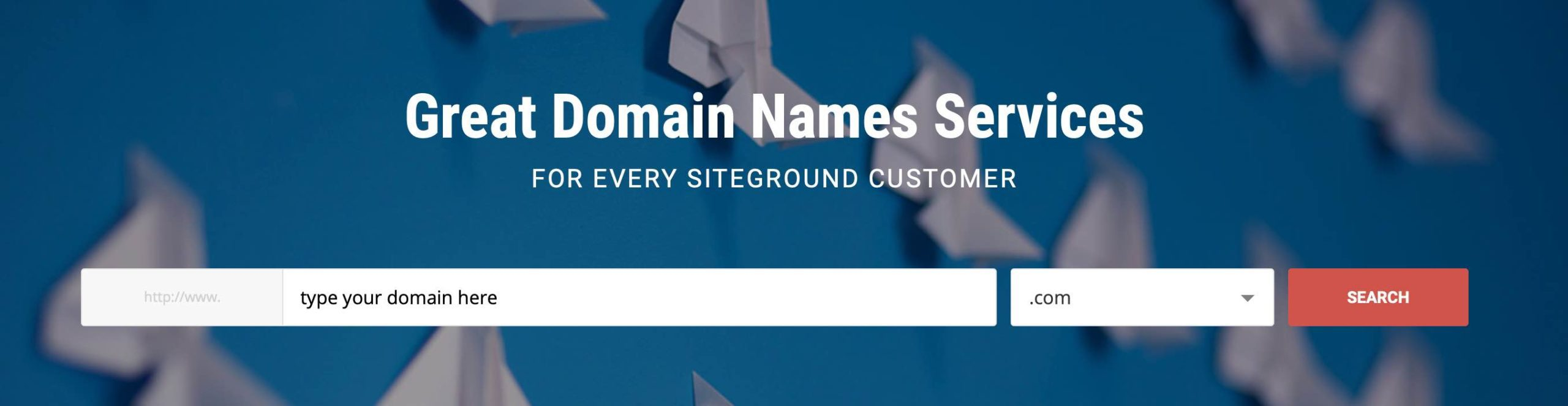 Great Domain Names Services