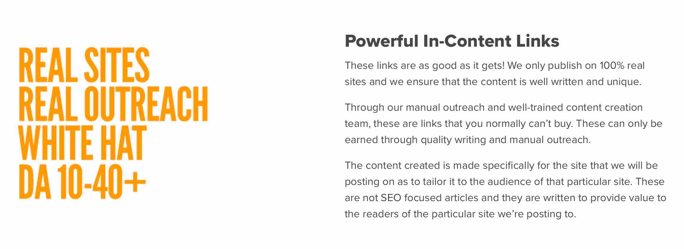 Powerful In-Content Links