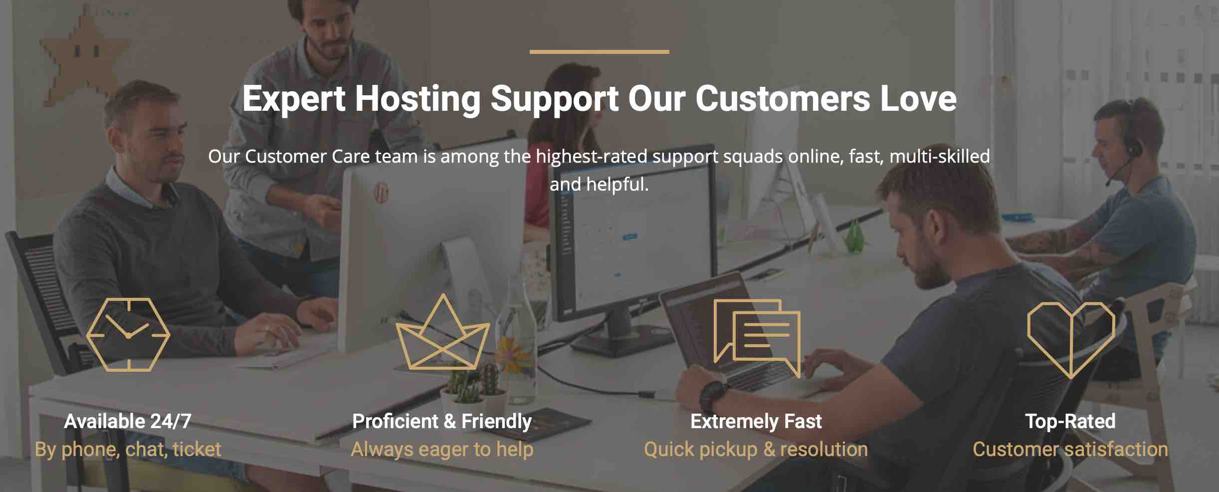 Expert Hosting Support Customers Love