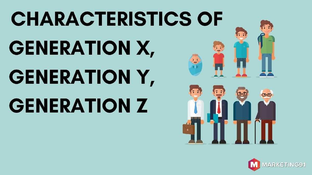 Characteristics of generation