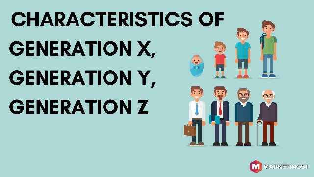 Different Systems for naming and categorising Generations