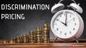 Discrimination Pricing