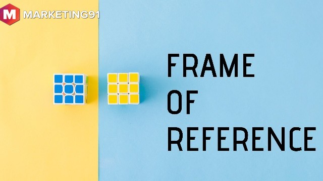 Meaning of frame of reference