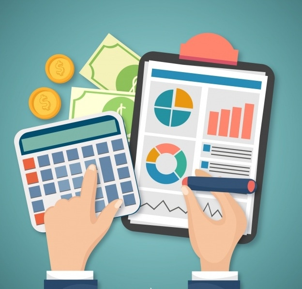 How to calculate percentage sales volume