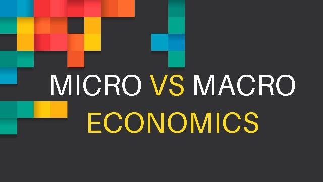 Micro vs Macro economics