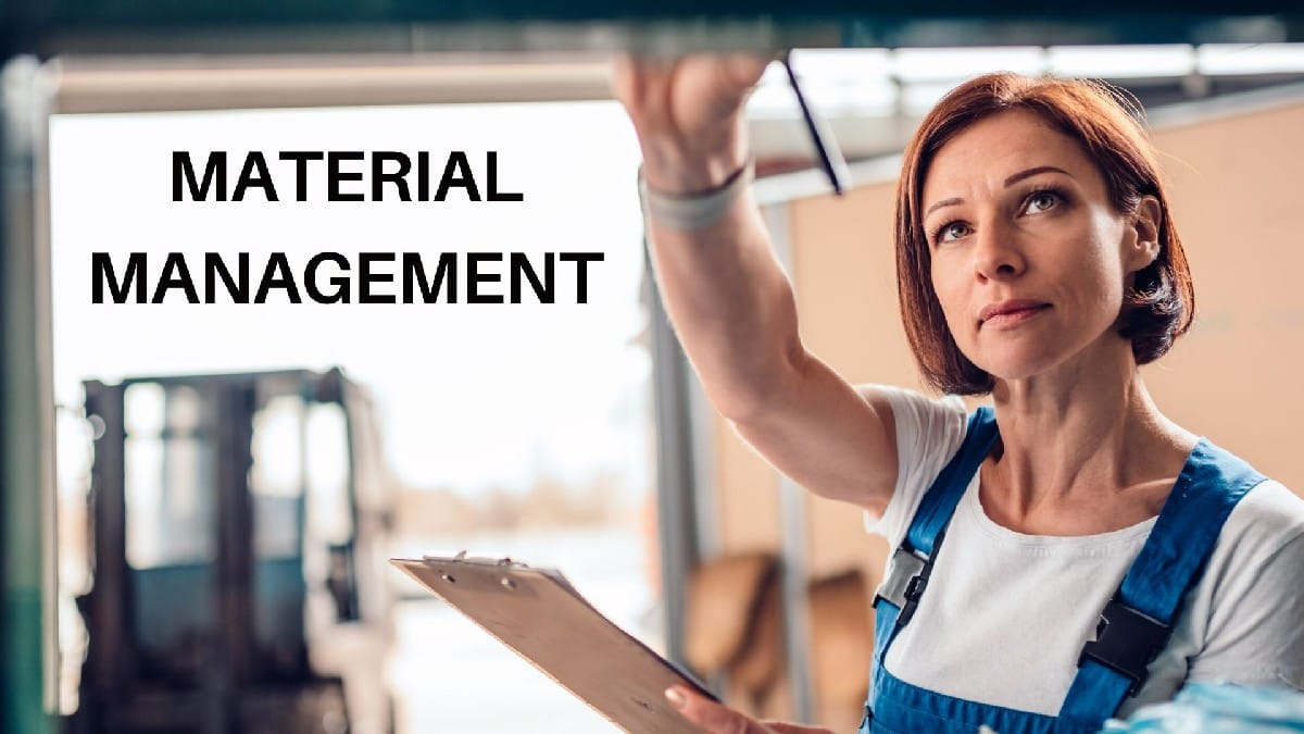 What is material management