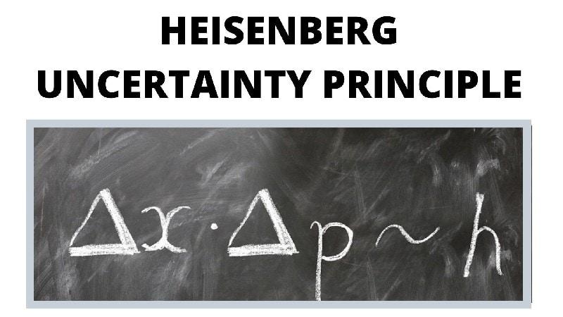 Heisenberg Uncertainty Principle Formula