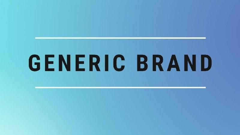 Generic Brands vs Brand Names