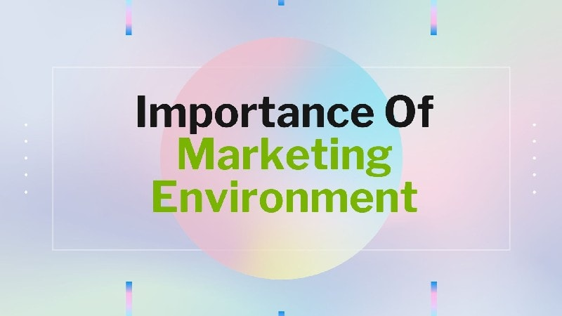 Importance of marketing environment