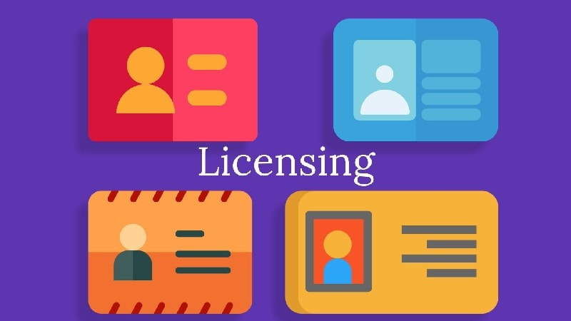 Meaning of licensing